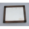 Arts and Crafts copper mirror