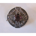 Scottish celtic brooch