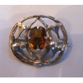 Arts & Crafts silver brooch