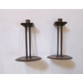 Pair of Arts & Crafts candlesticks
