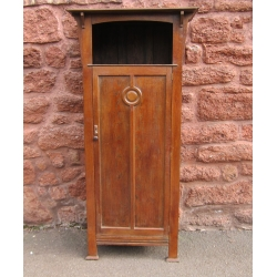 Arts & Crafts hall cupboard